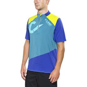 Cube AM Maglia jersey a maniche corte Uomo, blu
